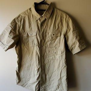 Sean john khaki shirt